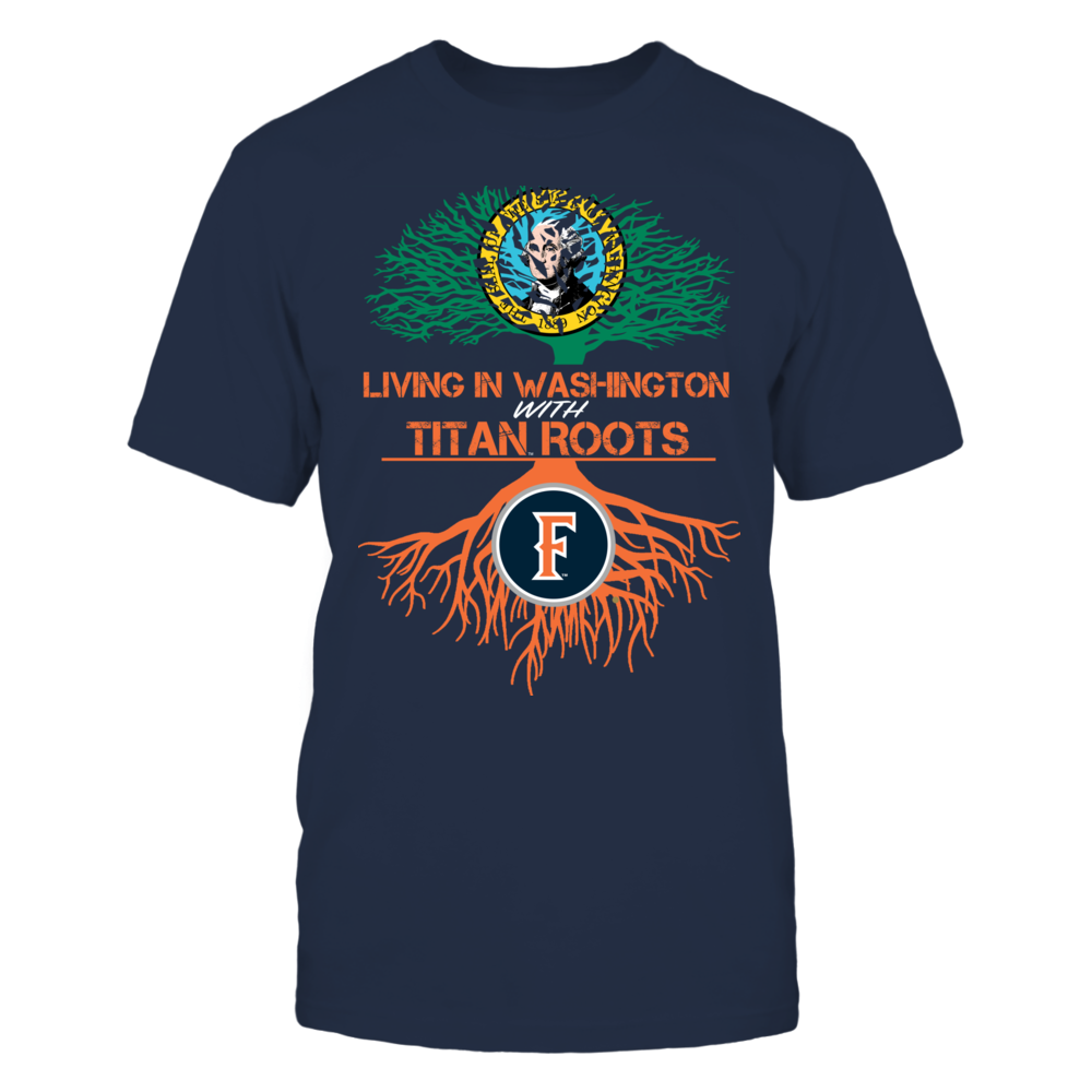 Cal State Fullerton Titans- Living Roots Washington Front picture