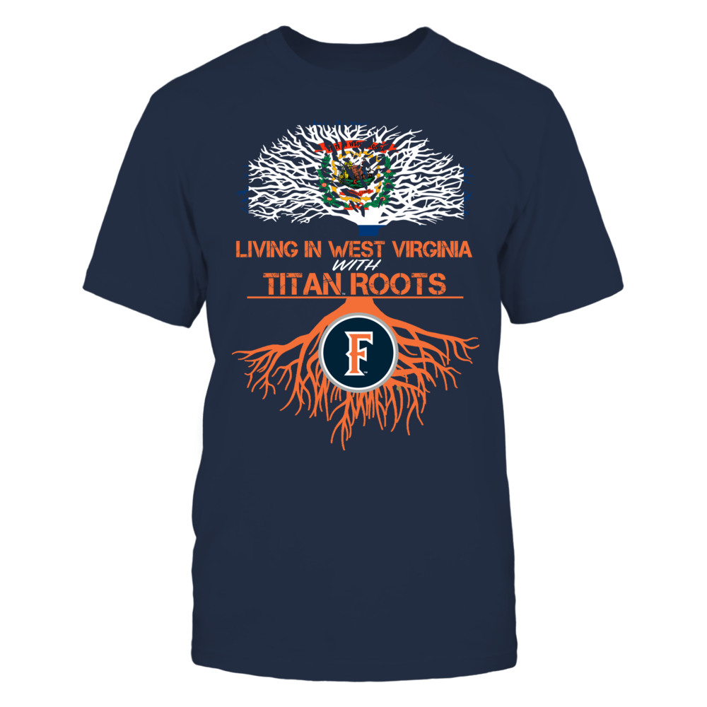 Cal State Fullerton Titans- Living Roots West Virginia Front picture