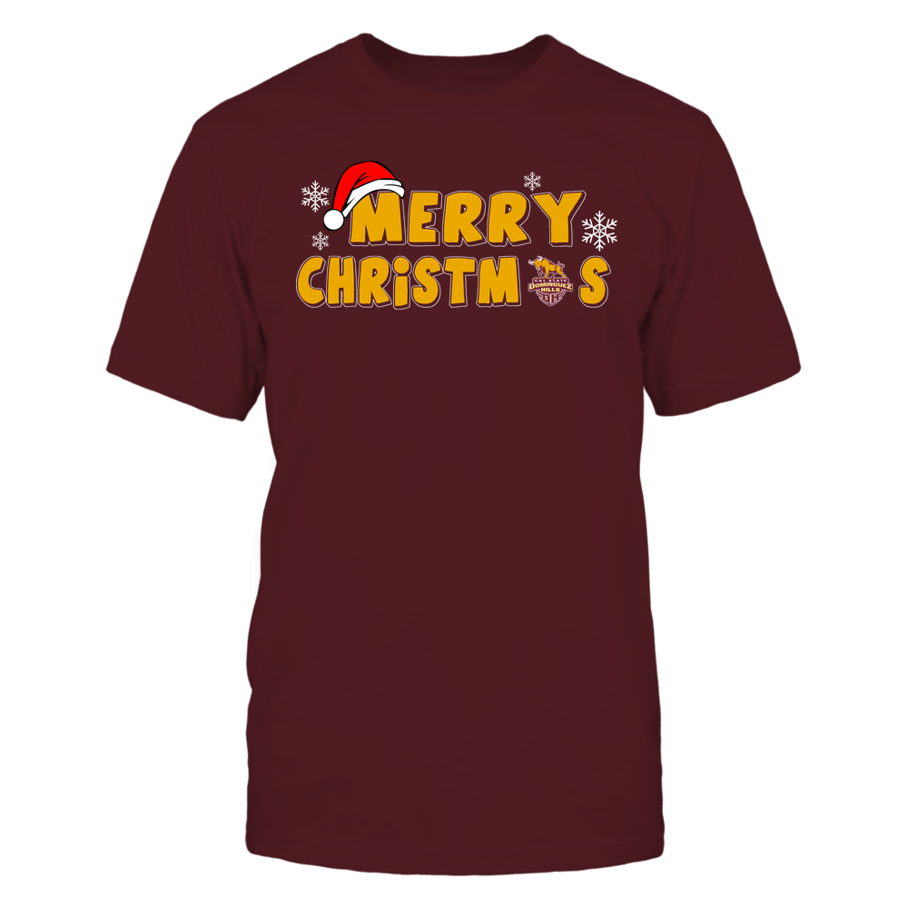 Cal State Dominguez Hills Toros - 19093010178 - Merry Christmas Logo - IF13-IC13-DS37 - APCX Front picture