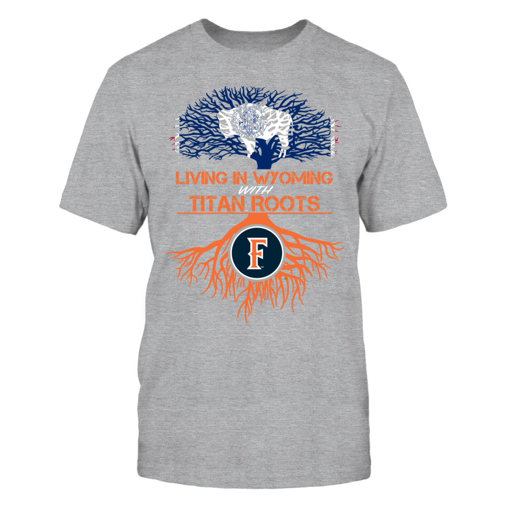 Cal State Fullerton Titans- Living Roots Wyoming Front picture