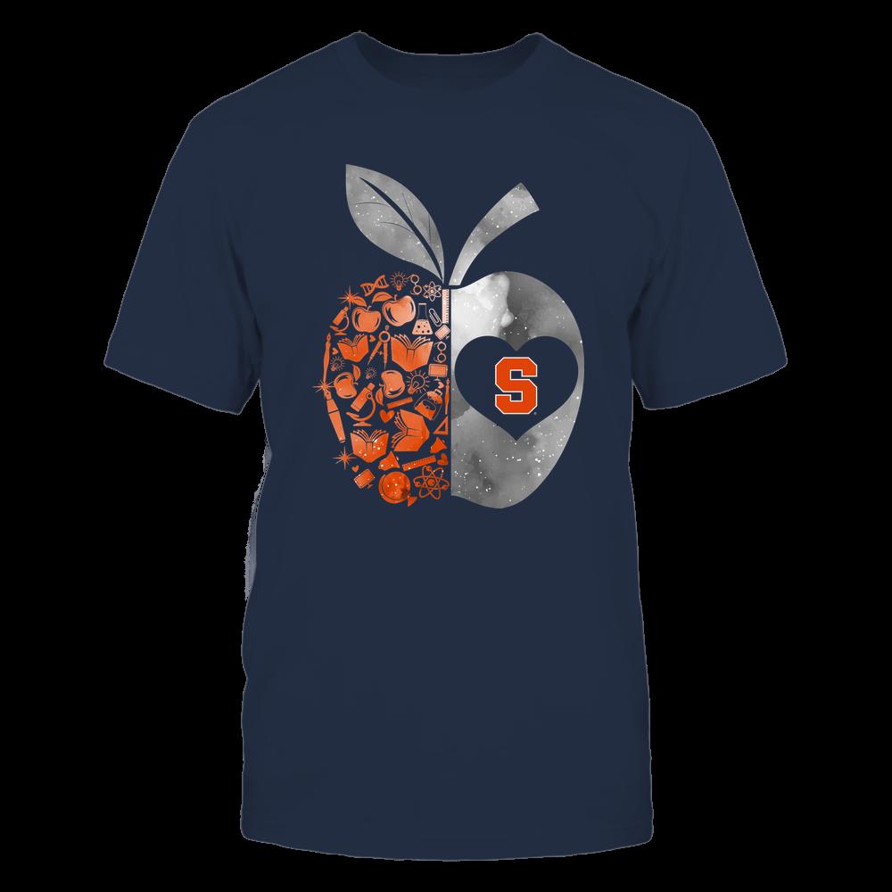 Syracuse Orange - Teacher - Half Apple Teacher Things - Galaxy Front picture
