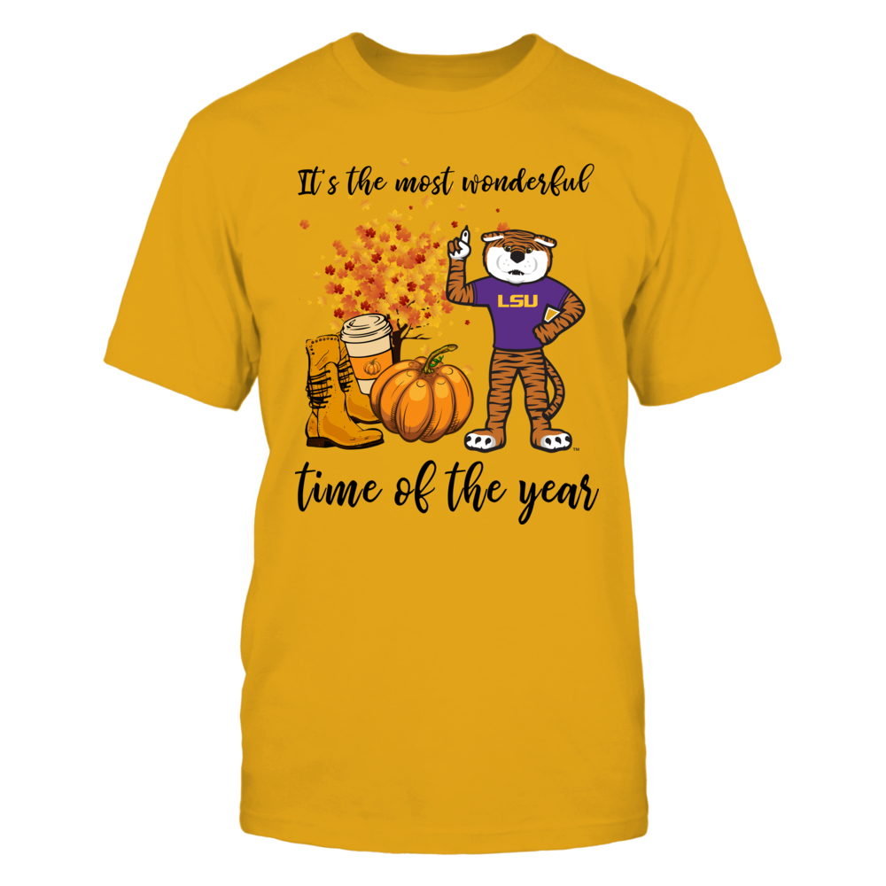 LSU Tigers - Fall-Most-Wonderful-Time-Mascot - IF-IC13-DS83 Front picture
