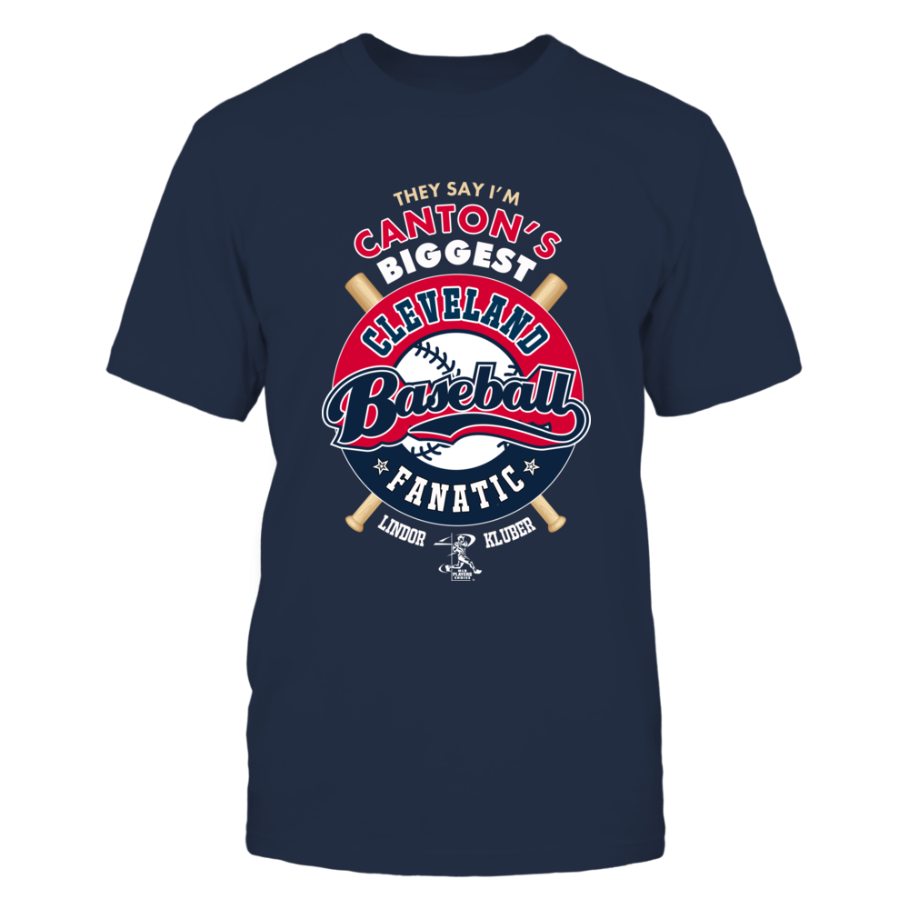 Are you one of Canton, Ohio's biggest fans of Cleveland Baseball? Show it with one-of-a-kind apparel featuring stars Francisco Lindor & Corey Kluber! Front picture