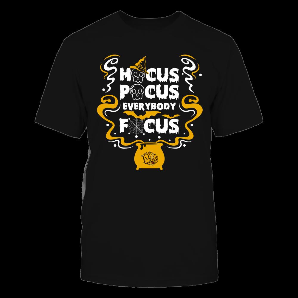 Arkansas Pine Bluff Golden Lions - Hocus Pocus Everybody Focus -  Halloween Cauldron - Team Front picture