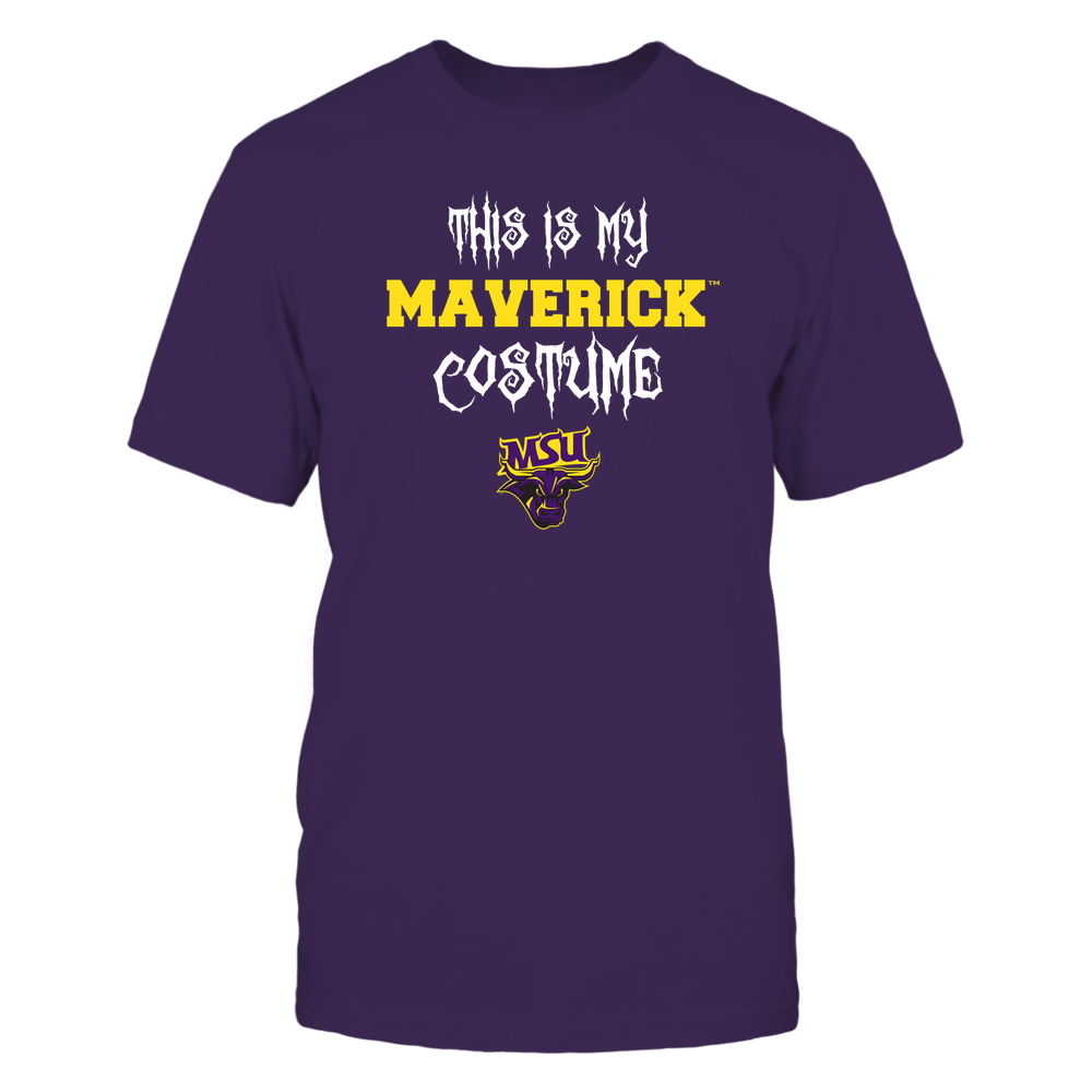 Minnesota State Mavericks - This Is My Halloween Costume - Mascot - Team Front picture