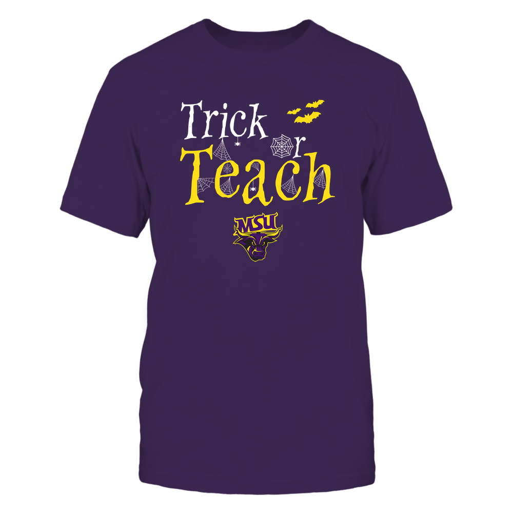 Minnesota State Mavericks - Teacher Halloween - Trick Or Teach - Team Front picture