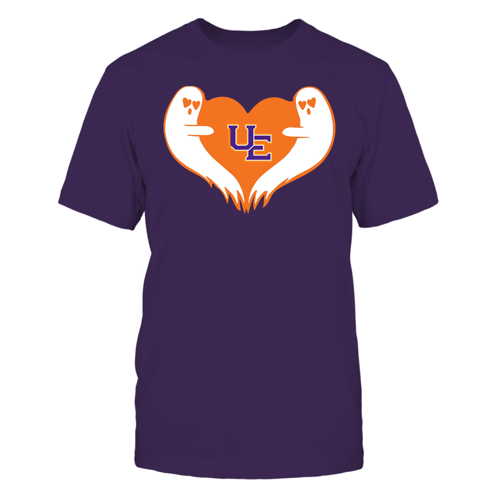 Evansville Purple Aces - Halloween - Ghost Heart - Team Front picture