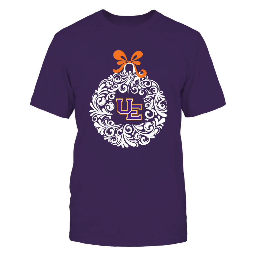 Evansville Purple Aces - 19100710469 - Christmas Ball Ornament - APCX - IF13-IC13-DS45 Front picture