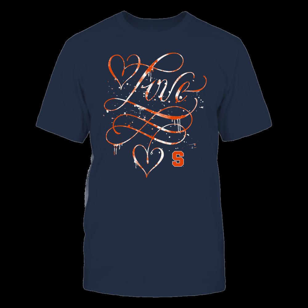 Syracuse Orange - Love Infinity - Team Front picture