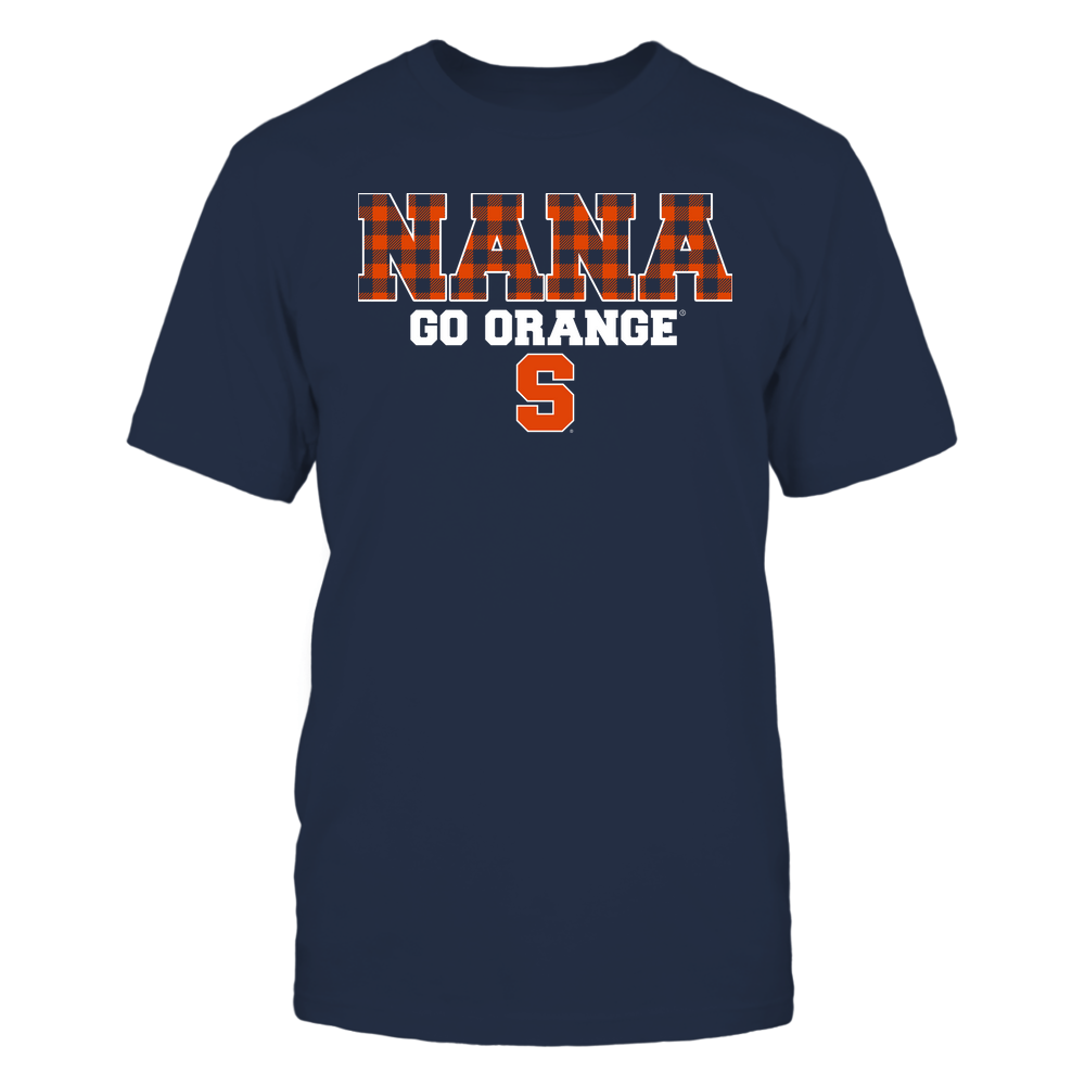 Syracuse Orange - Nana - Checkered Pattern - Team Front picture