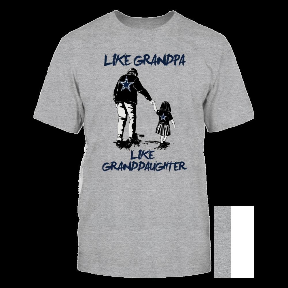 Dallas Cowboys - Like grandpa like granddaughter Front picture