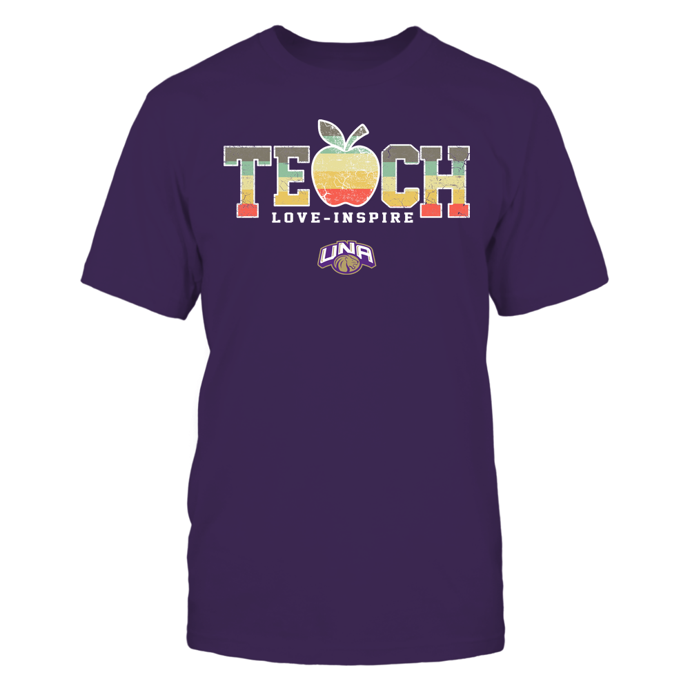 North Alabama Lions - Teach Love Inspire - Apple Vintage - Team Front picture