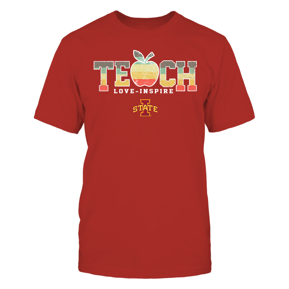 Iowa State Cyclones - Teach Love Inspire - Apple Vintage - Team Front picture
