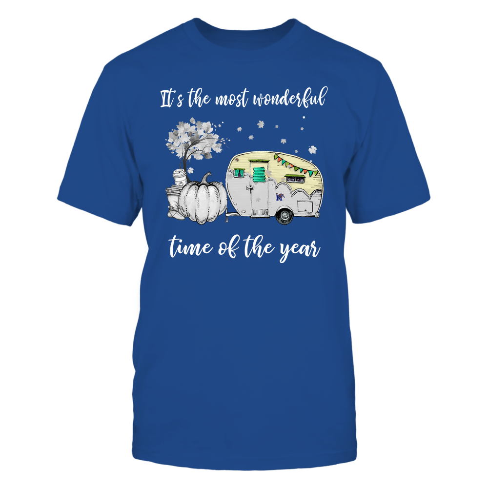 Memphis Tigers - Fall - Camper - It's The Most Wonderful Time Front picture