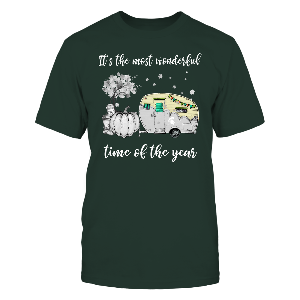 Michigan State Spartans - Fall - Camper - It's The Most Wonderful Time Front picture
