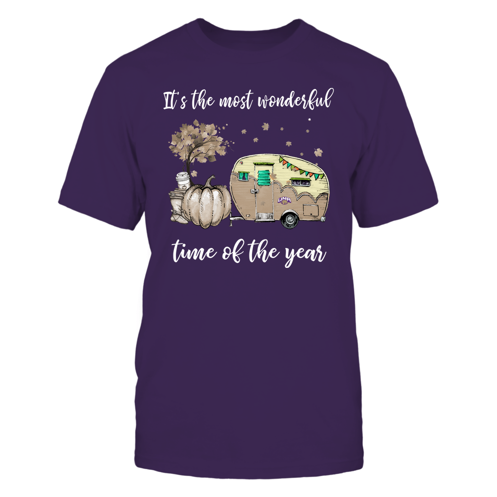 North Alabama Lions - Fall - Camper - It's The Most Wonderful Time Front picture