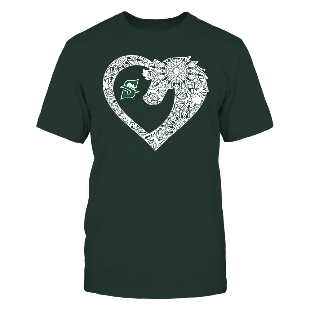 Stetson Hatters - Horse - Mandala Horse Heart - Team Front picture