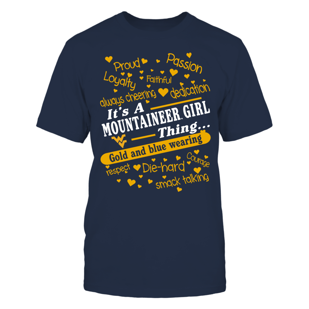 West Virginia Mountaineers - It's A Girl Thing Front picture