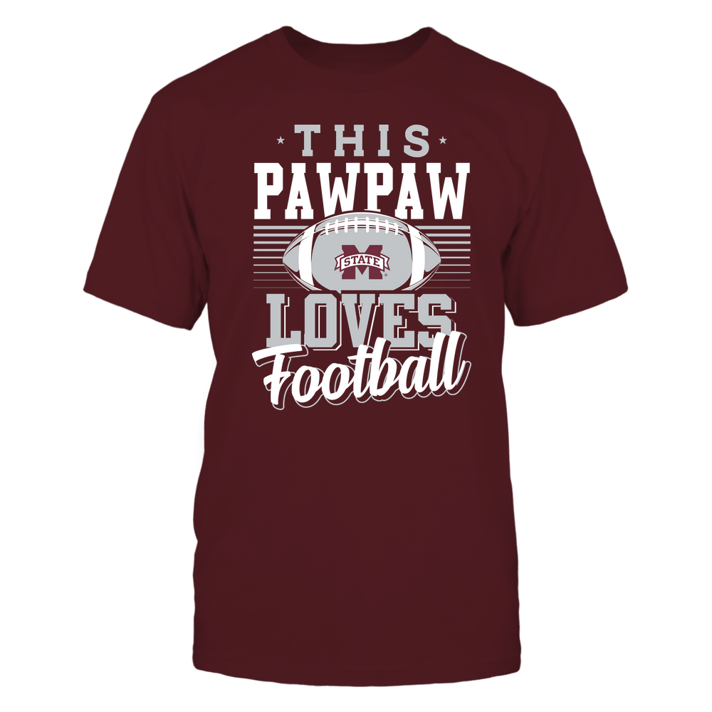 Mississippi State Bulldogs - This Pawpaw Loves Football - Team Front picture