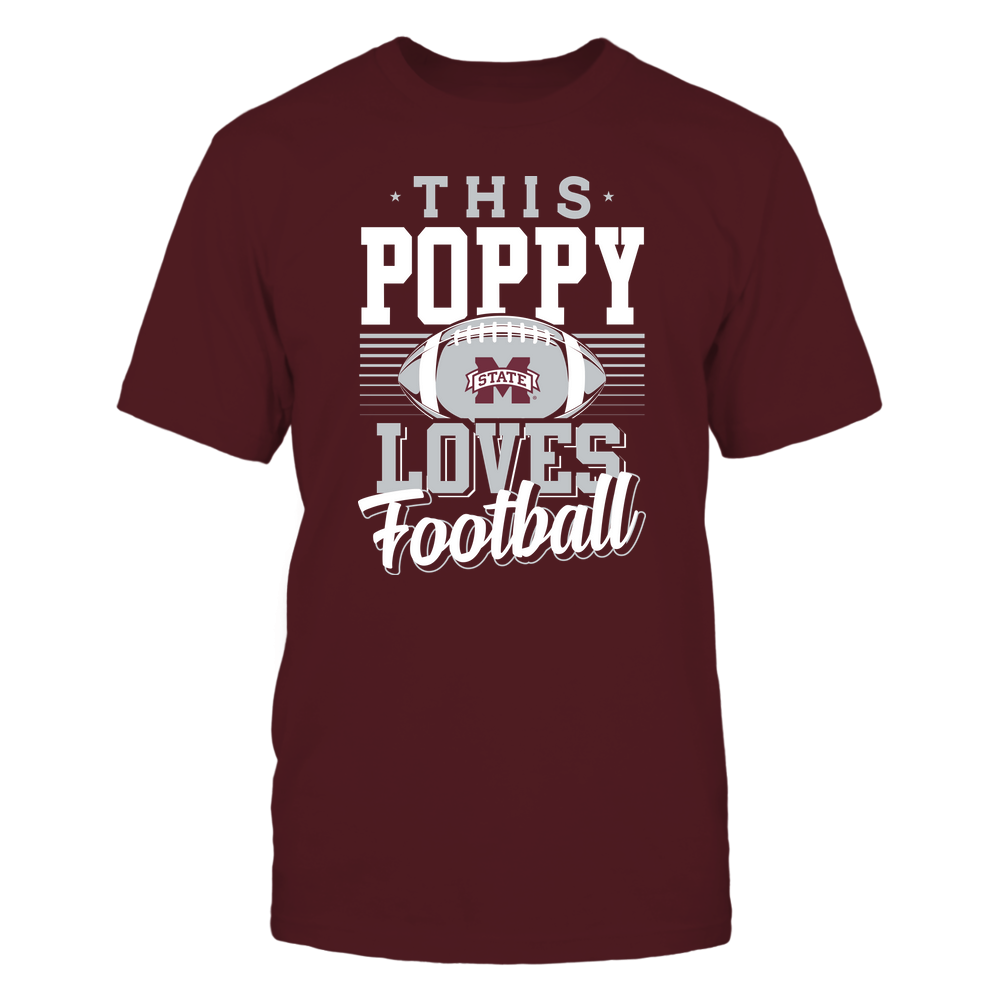 Mississippi State Bulldogs - This Poppy Loves Football - Team Front picture