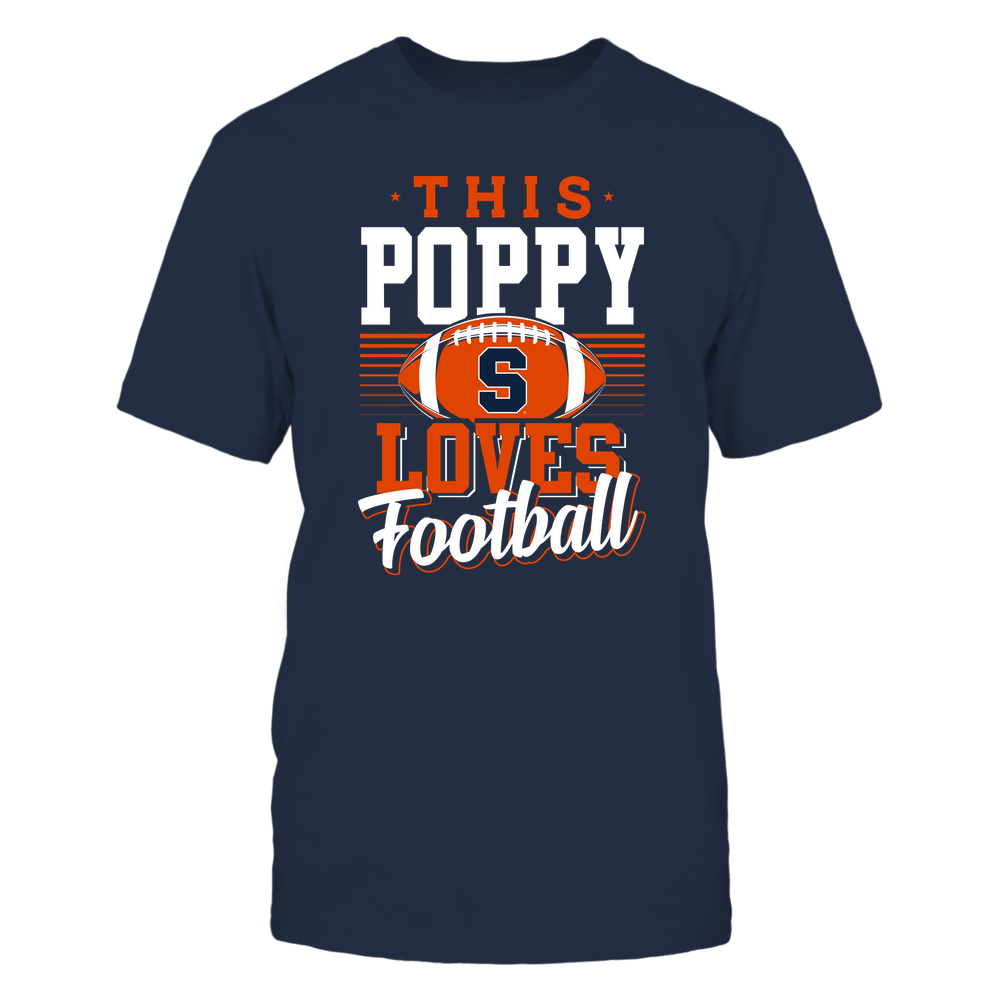 Syracuse Orange - This Poppy Loves Football - Team Front picture