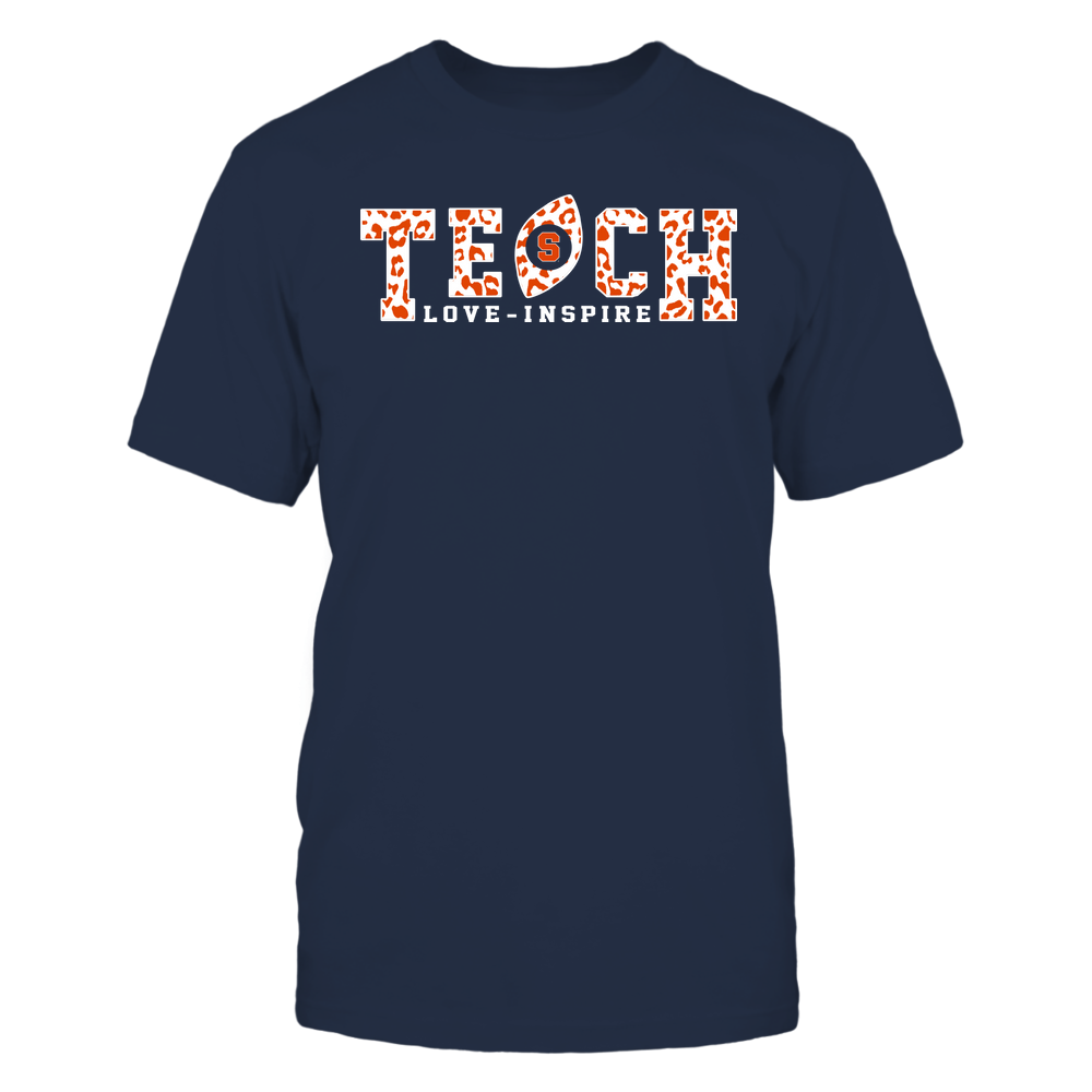 Syracuse Orange - Teach Love Inspire - Leopard Football - Team Front picture