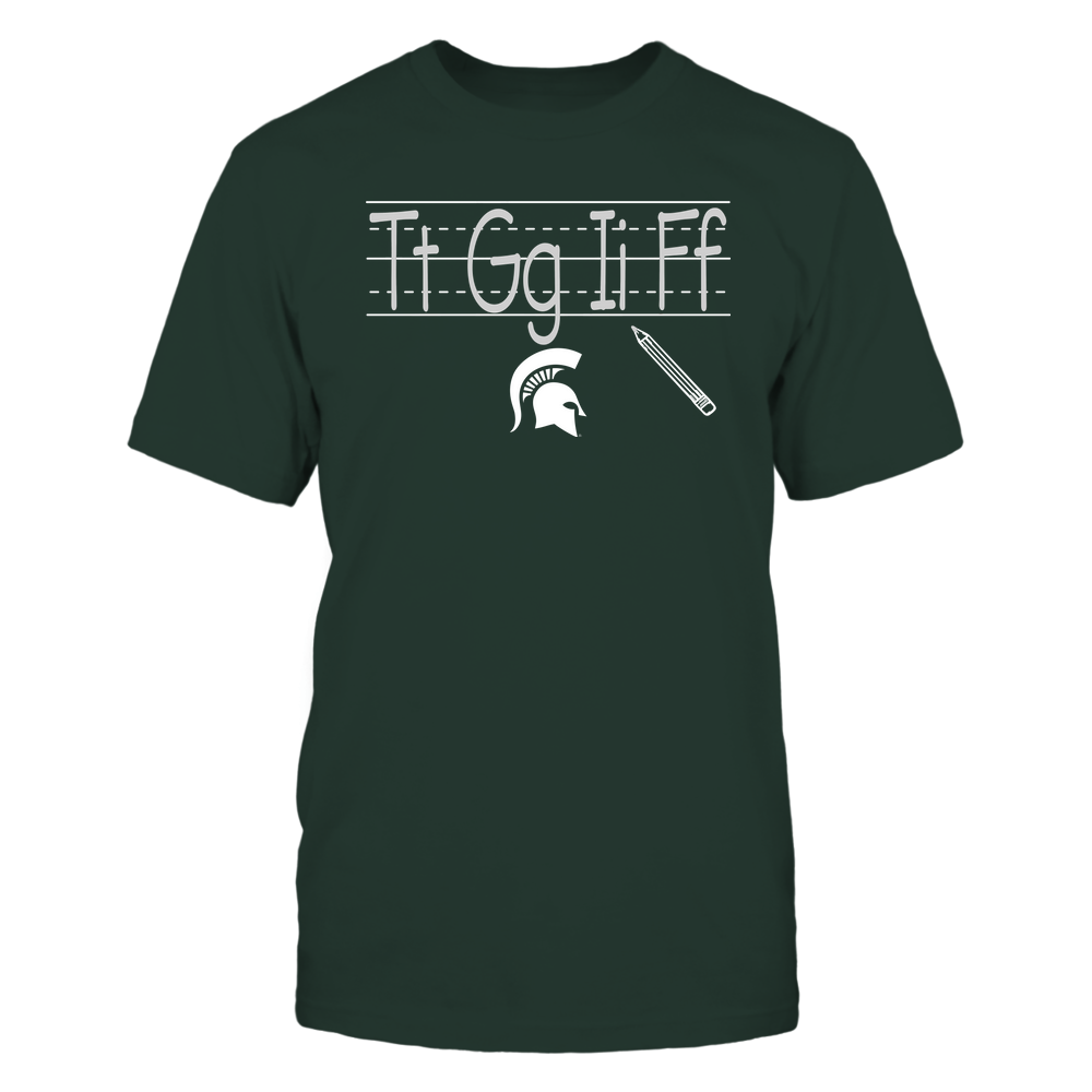 Michigan State Spartans - Teacher - TGIF - Team Front picture