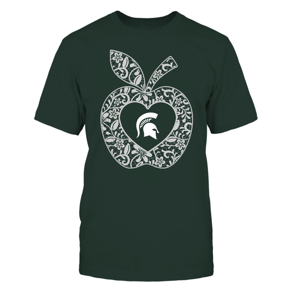 Michigan State Spartans - Teacher - Lace Apple - Team Front picture