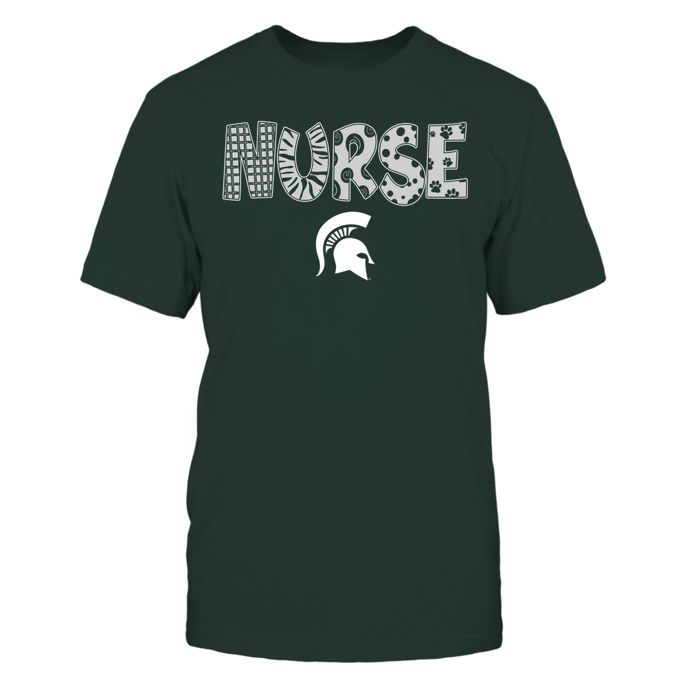 Michigan State Spartans - Nurse - Doodle - Team Front picture