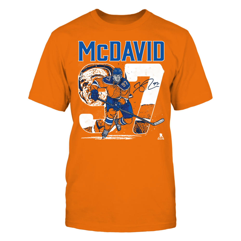 Connor McDavid Connor McDavid - Player Number FanPrint