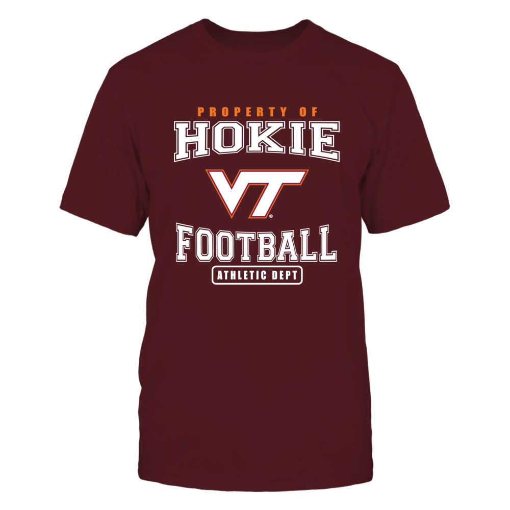 Virginia Tech Hokies Virginia Tech - Property Hokie Footbal FanPrint