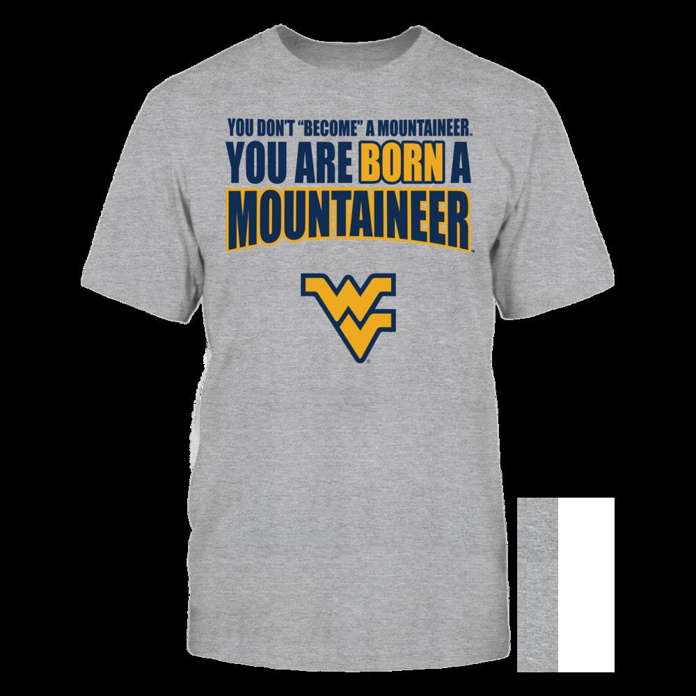 West Virginia Mountaineers Born West Virginia University FanPrint