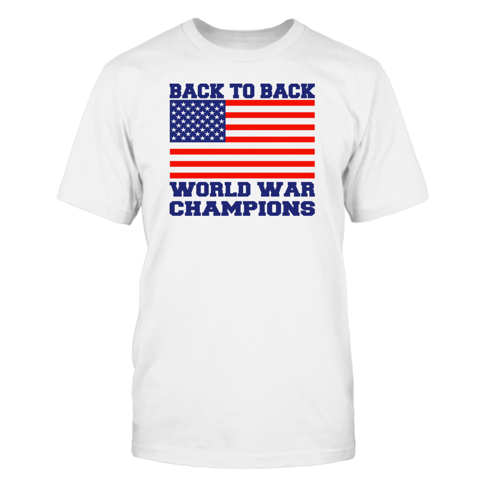 Back To Back World War Champs Front picture