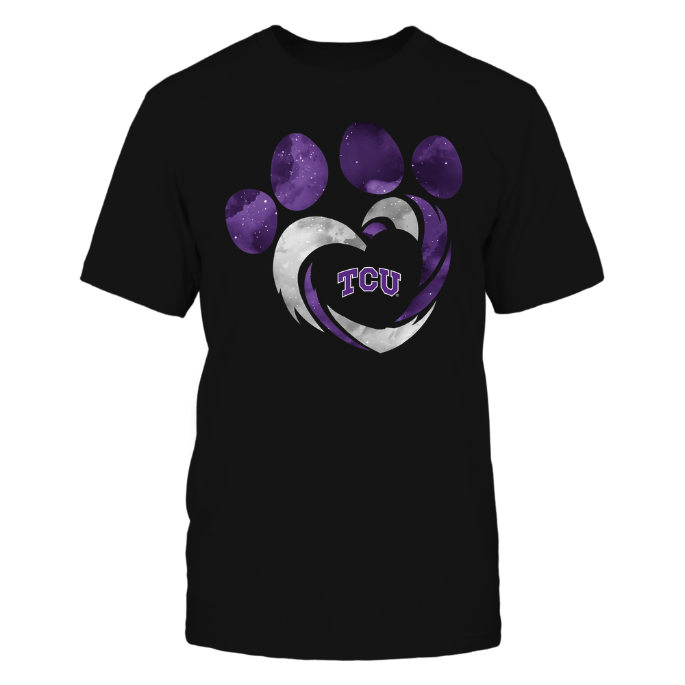 TCU Horned Frogs - Galaxy Hurricane - Paw Heart - Team Front picture