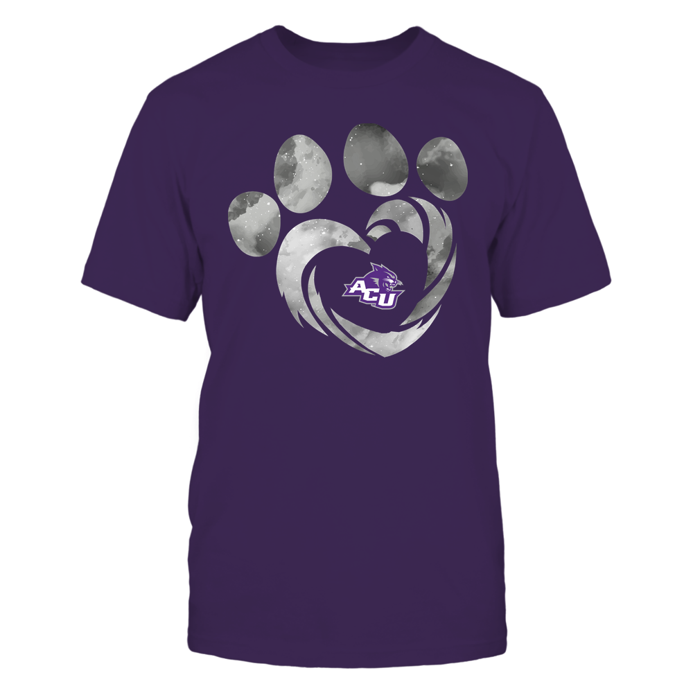 Abilene Christian Wildcats - Galaxy Hurricane - Paw Heart - Team Front picture