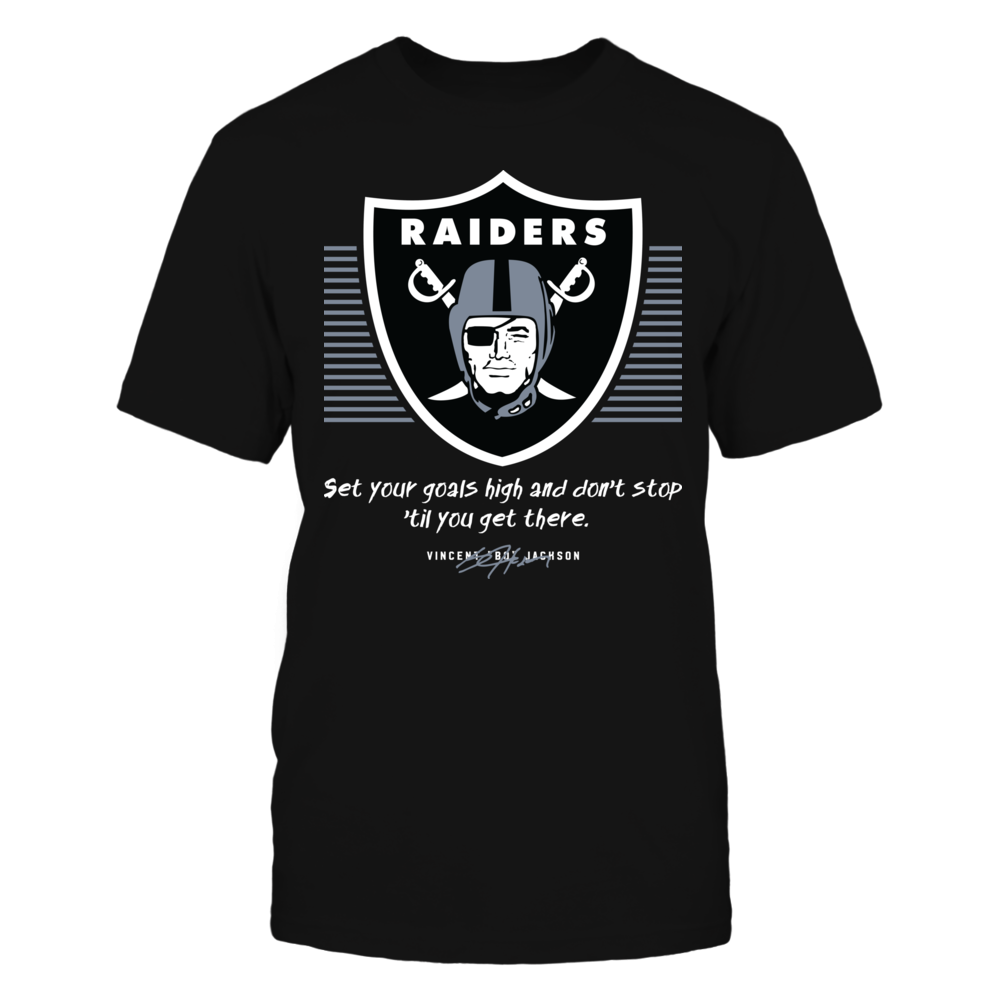 Oakland Raiders - Set Your Goals High Front picture