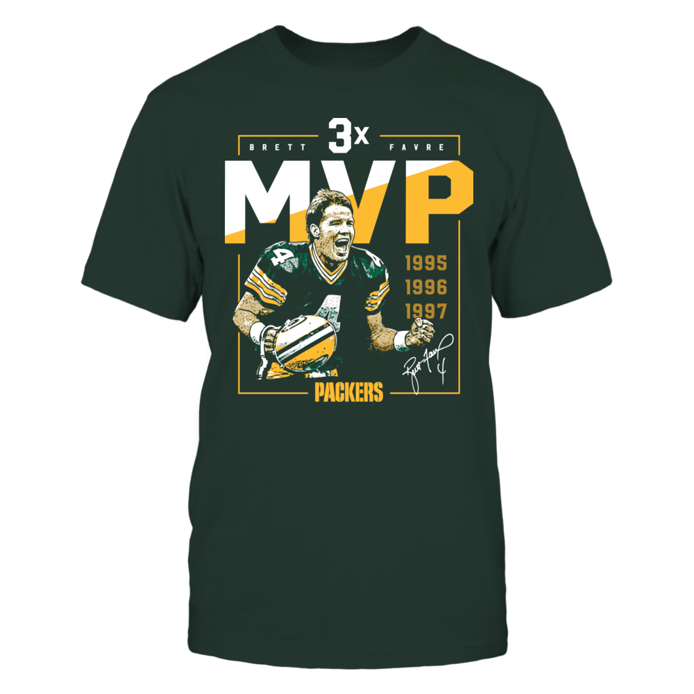 Green Bay Packers - Brett Favre - 3x MVP Front picture
