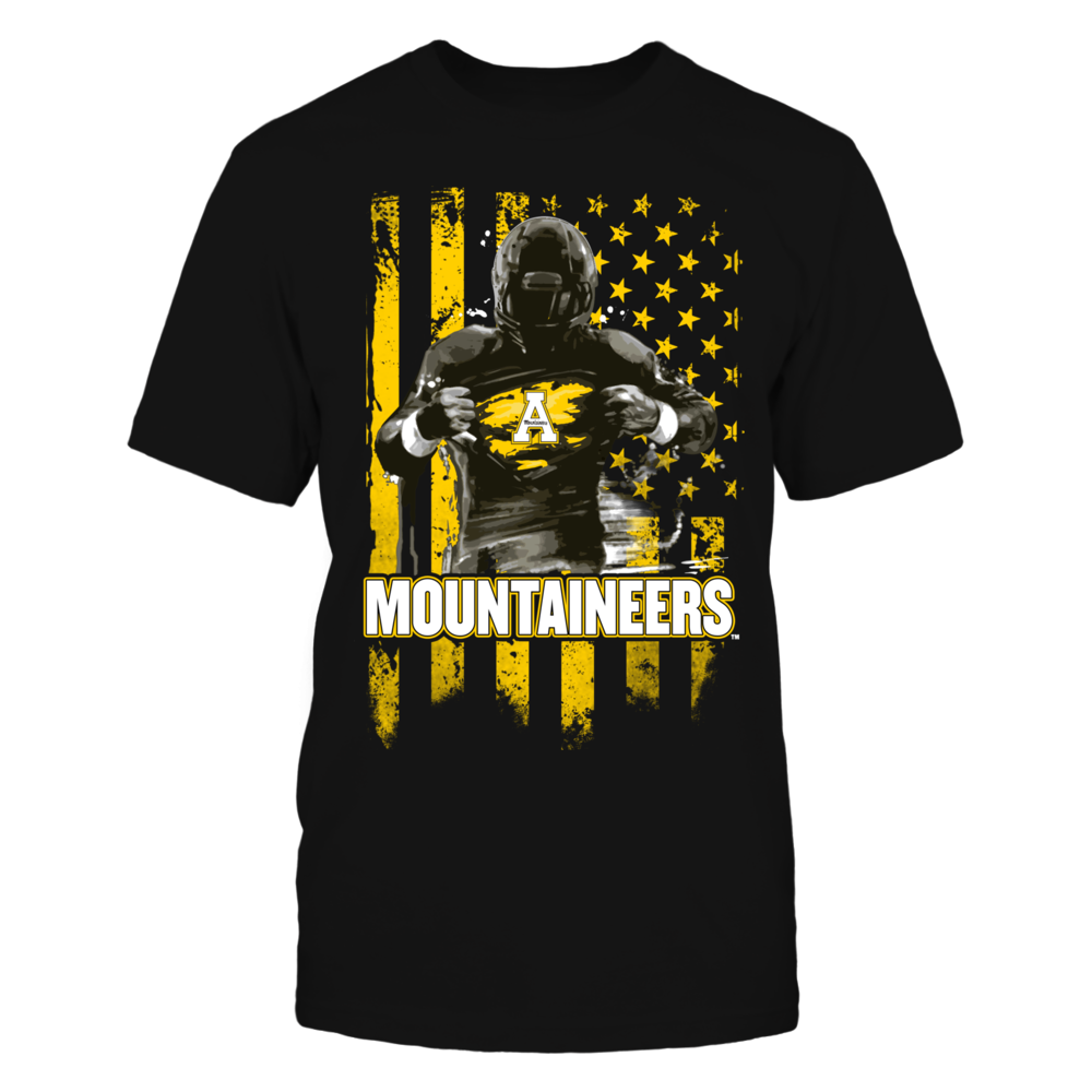 Player Flag - Appalachian State Mountaineers Front picture