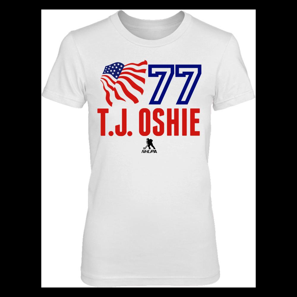 TJ Oshie T. J. Oshie 77 American Hockey FanPrint