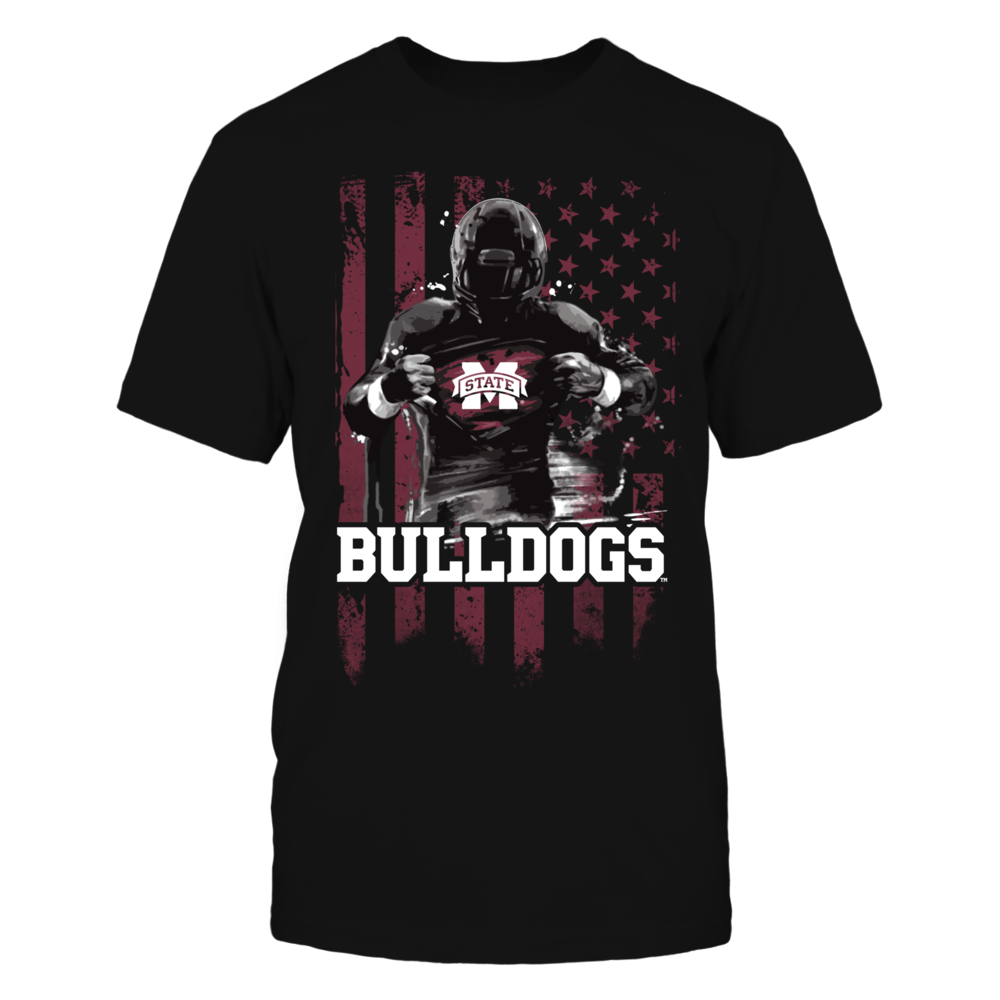 Player Flag - Mississippi State Bulldogs Front picture