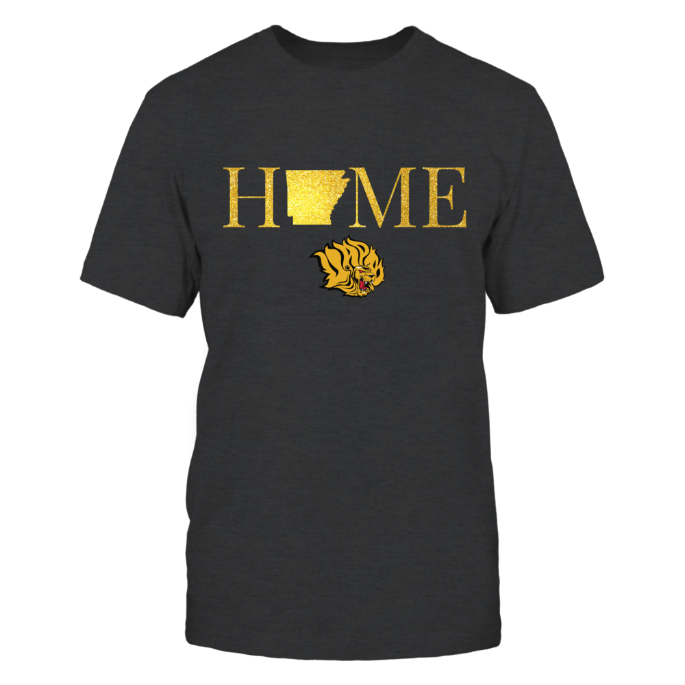 Arkansas Home in Glittering Gold - Arkansas Pine Bluff Golden Lions Front picture
