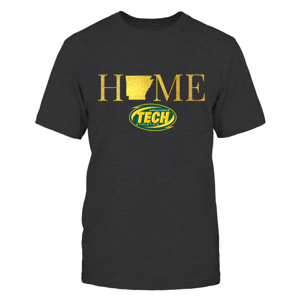 Arkansas Home in Shiny Gold - Arkansas Tech Golden Suns Front picture