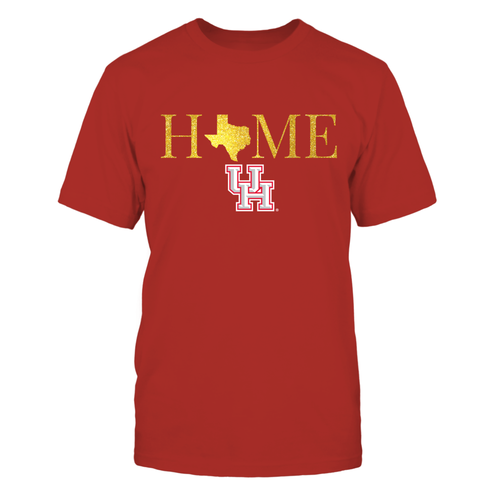 Texas Home in Shiny Gold - Houston Cougars Front picture