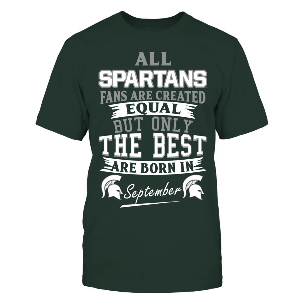 Spartans Fans - September Front picture
