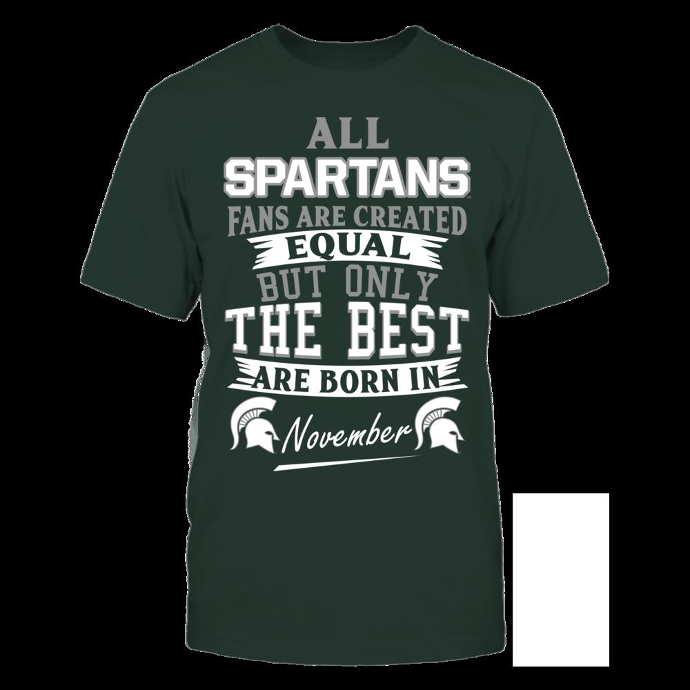 Spartans Fans - November Front picture
