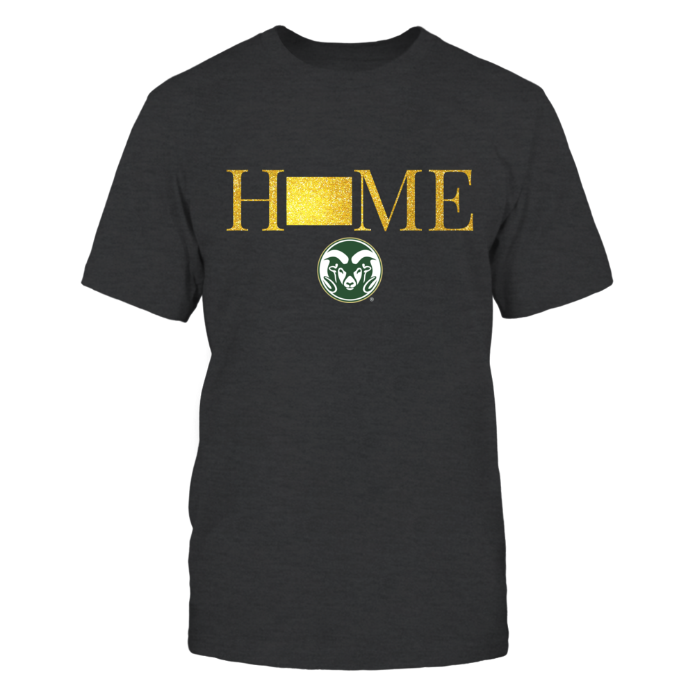 Colorado Home in Glittering Gold - Colorado State Rams Front picture