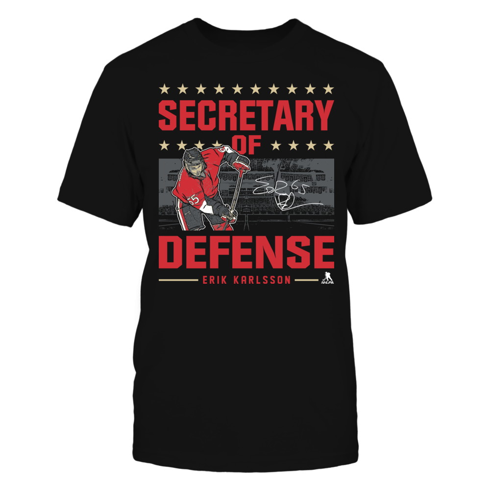 Erik Karlsson - Secretary of Defense Front picture