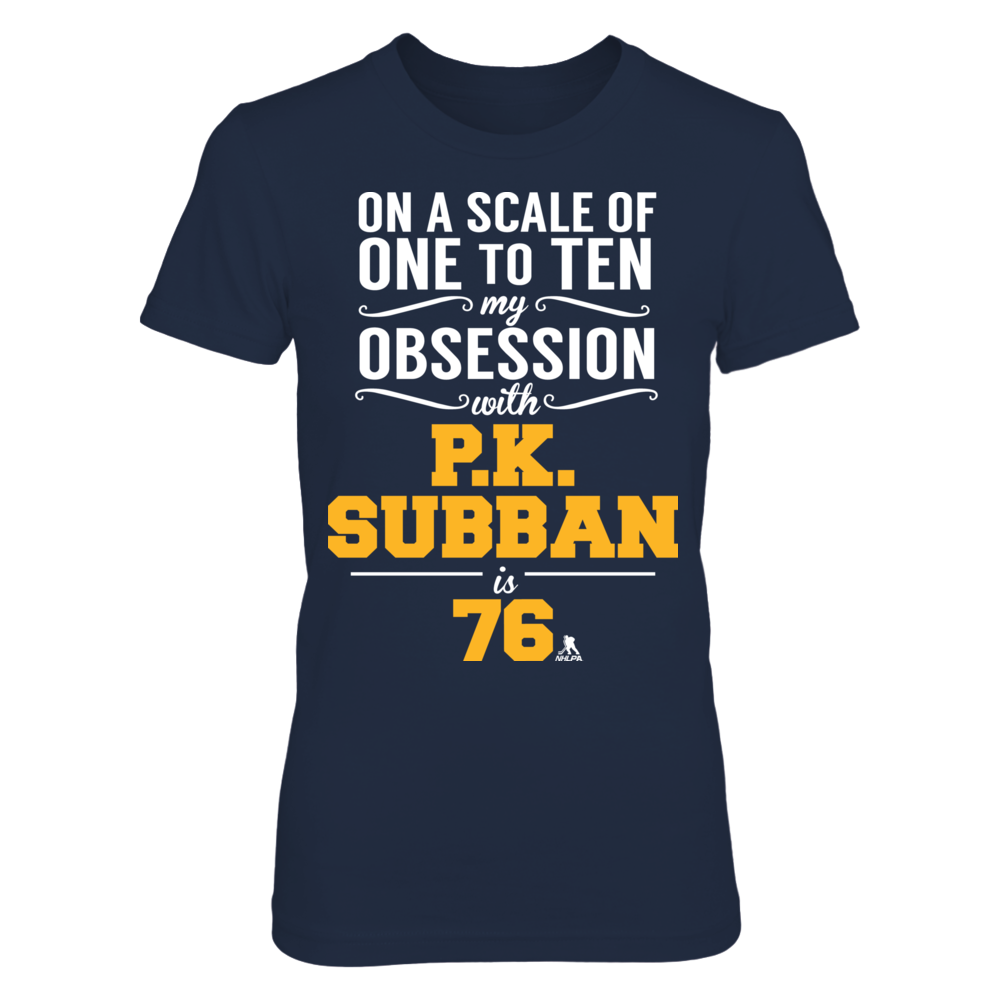 P.K. Subban - Obsession Level Front picture
