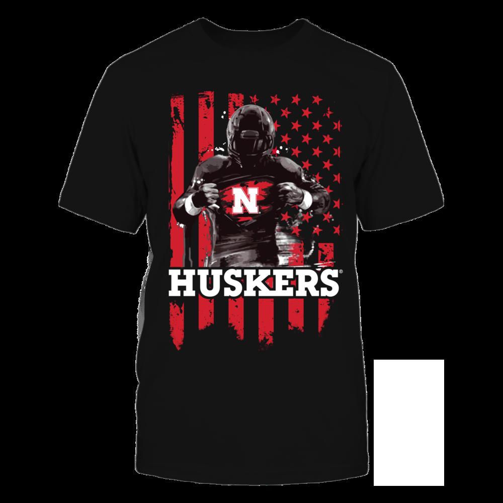 Player Flag - Nebraska Cornhuskers Front picture