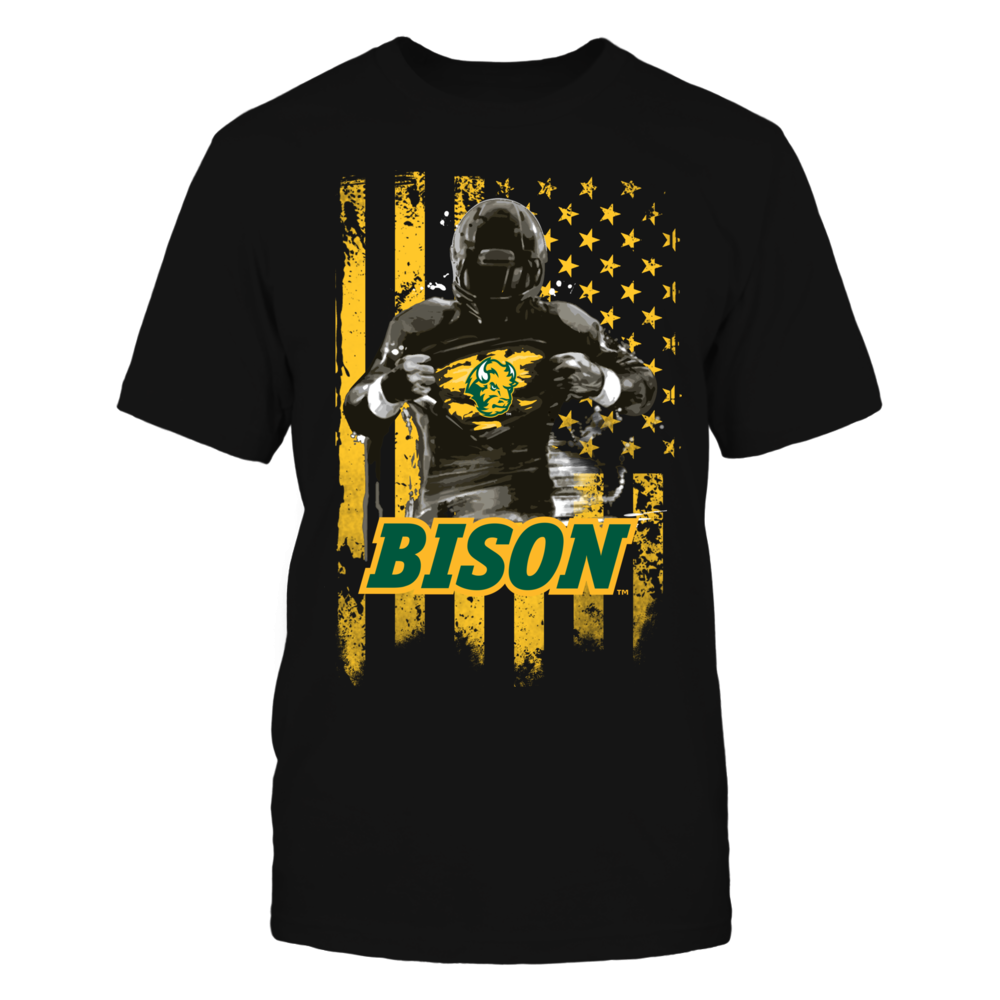 Player Flag - North Dakota State Bison Front picture
